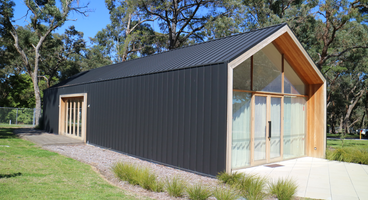 COLORBOND® Matt Standing Seam Cladding